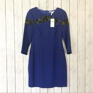 MAX & CLEO Dress with Lace Detail NWT Size: 6